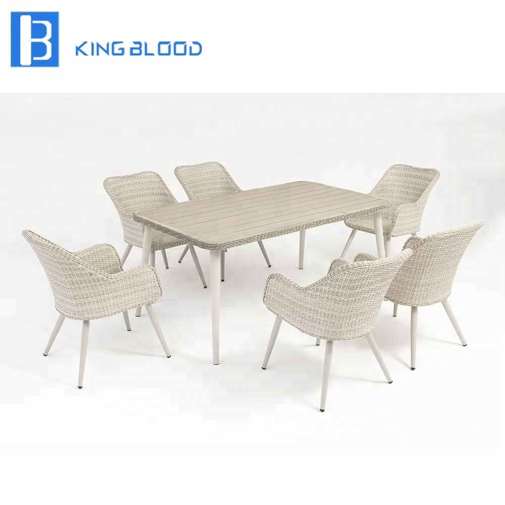 Wondrous Patio Wicker Chair Furniture White Pe Rattan Outdoor Dining Table And Chair Buy Pe Rattan Outdoor Furniture Dining Table And Chair Patio Wicker Uwap Interior Chair Design Uwaporg