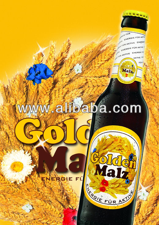 "German Beer ""Golden Malz"" Sweet Beer"