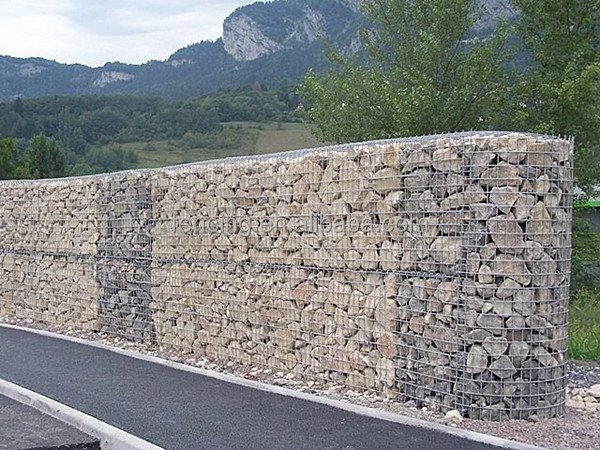 gabion wall for stone retaining wall design for construction and decoration - Gabion Walls Design