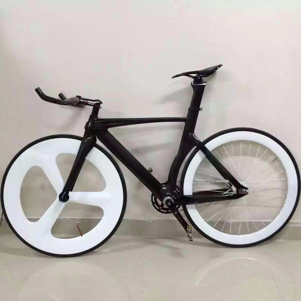 Yuan an complete 700C carbon fixed gear bike colorful fixed gear bike Chinese factory