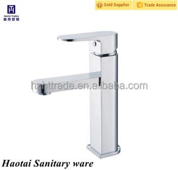 Basin Use Long Neck Single Hand Artistic Brass Bathroom Grohe Faucet