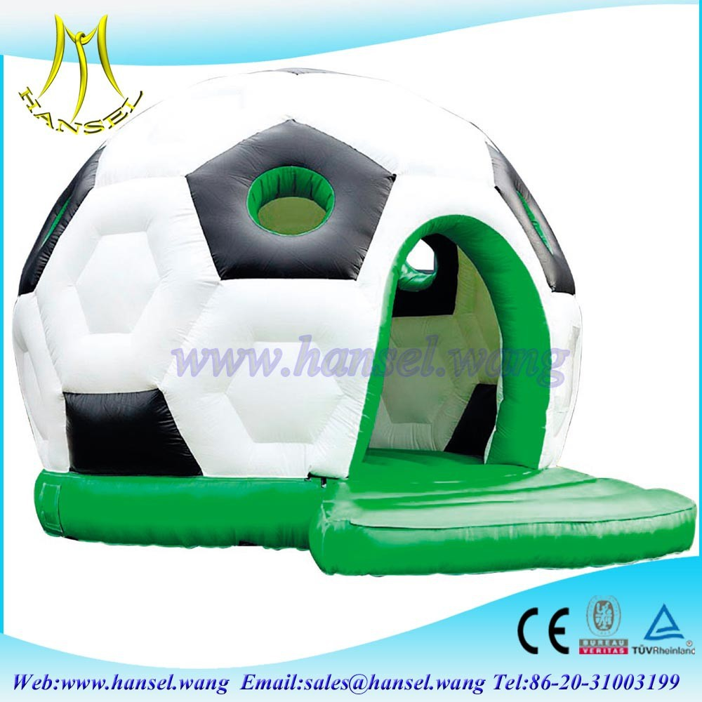 Hansel funny games outdoor football shape inflatable doll