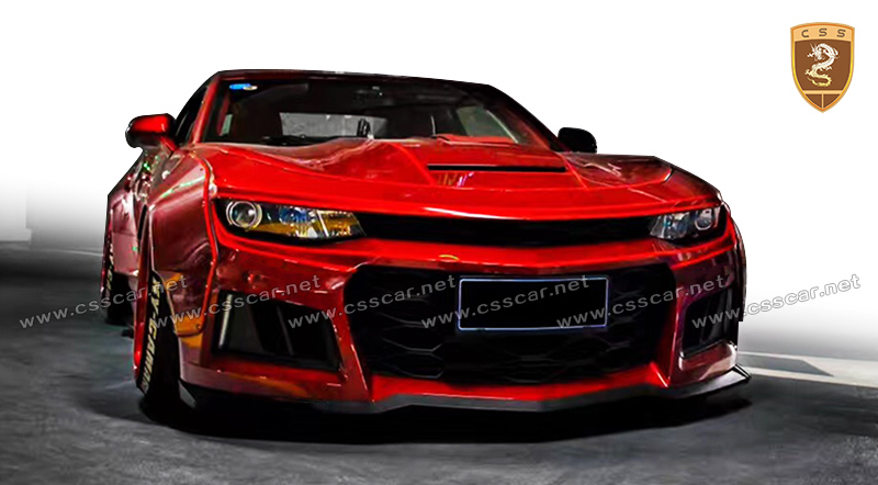 new cs style wide body kit for chevy camaro 2017 in frp buy wide body kit for camaro camaro. Black Bedroom Furniture Sets. Home Design Ideas