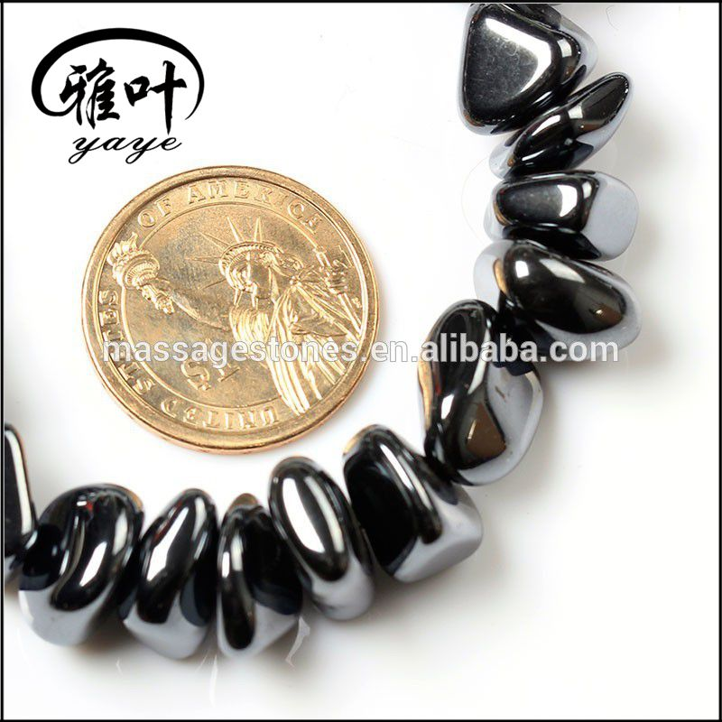 Hight Quality Hematite Natural stone Tumbled beads 50pcs/strand,10strand/lot, Factory price!!