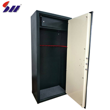 Hot-rolling steel storage gun safe box cabinet with key