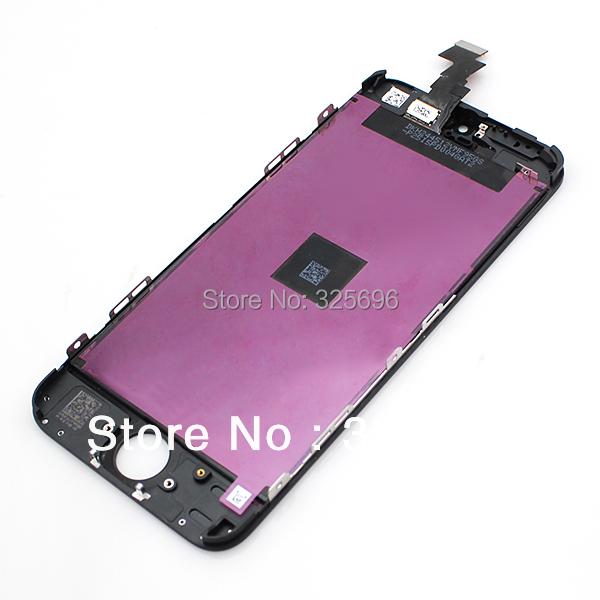 Для iphone 5C жк-дисплей планшета дисплей сенсорный экран монтажный комплект, Черный цвет