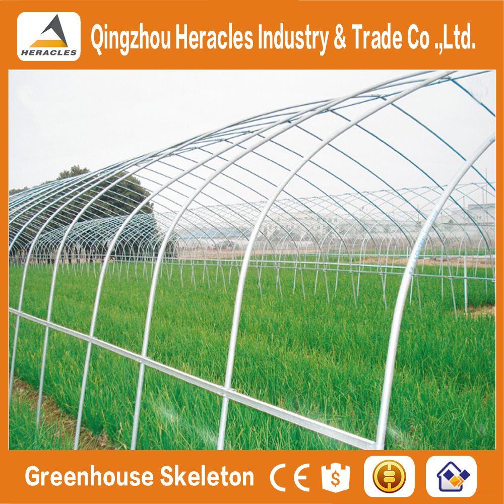 Heracles Factory price trade assurance one stop gardens tunnel greenhouse