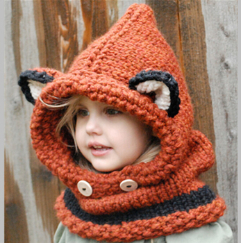 Custom Design Crochet Handmade Baby Winter Beanie Hat With Scarf ... 594561cbec1