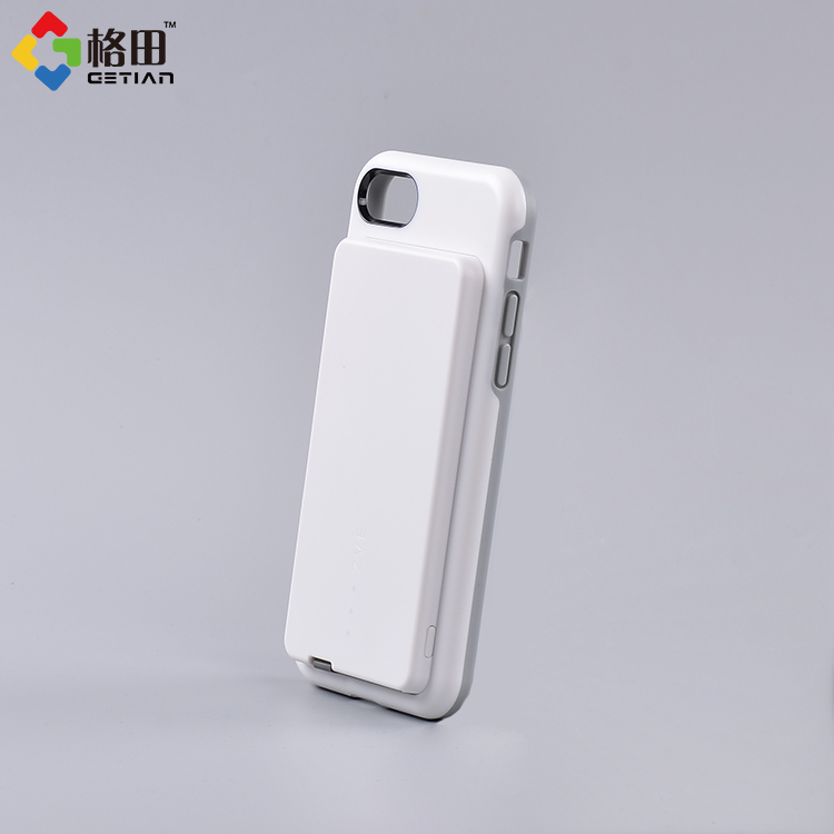 China manufacturer wholesale mobile phone accessories charging phone case+battery case for iphpne 8 jack
