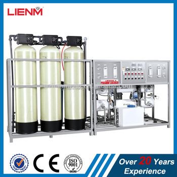 LM-RO-B Two stage automatic glass fiber reverse osmosis water treatment