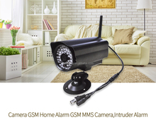 Support customize !GSM Wireless camera SMS/MMS home security alarm system--BL-E9 with video monitoring