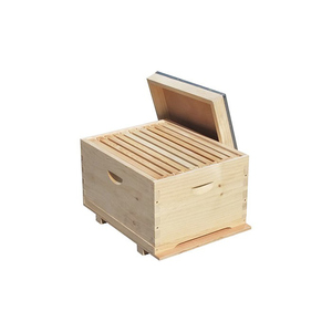 New Zealand pinewood Langstroth a layer of frame beehive