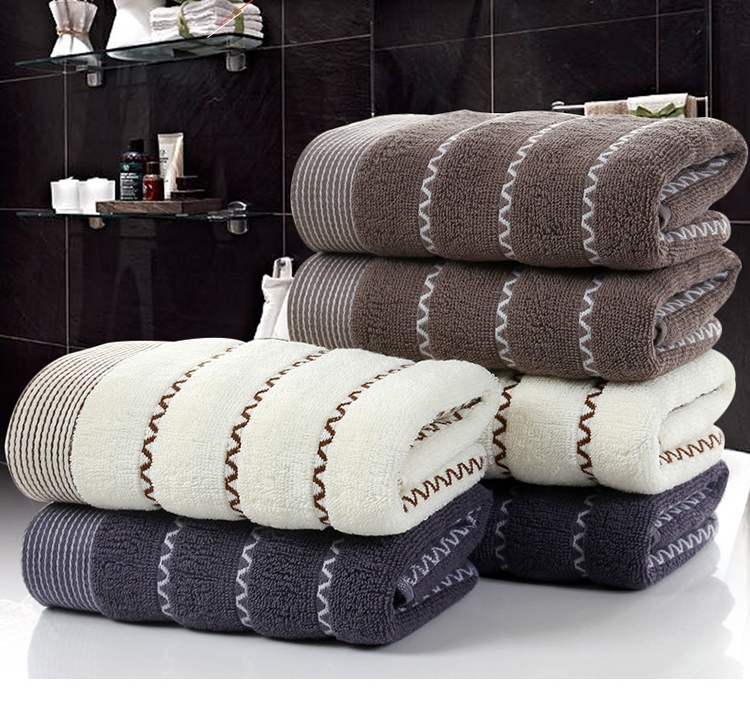 China Factory Supplier softextile Custom Gift Face Cotton Luxury Towel
