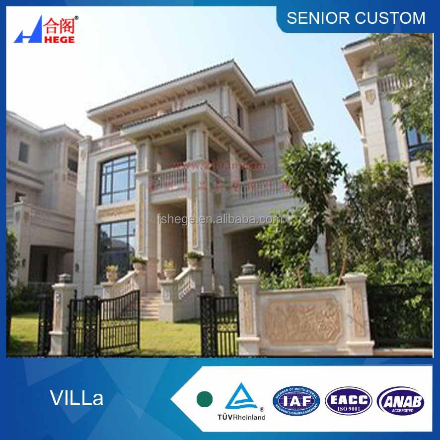china modern european style design villa modular villa for vacation rh alibaba com