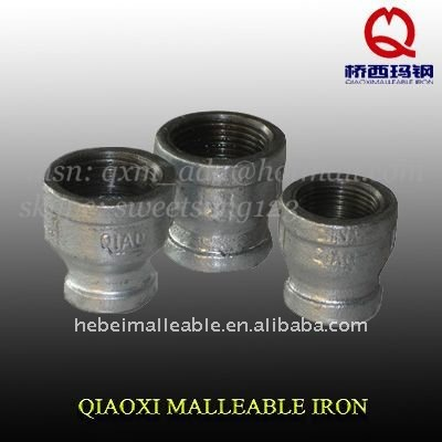 Maleable Iron Pipe Fitting Reducing Coupling