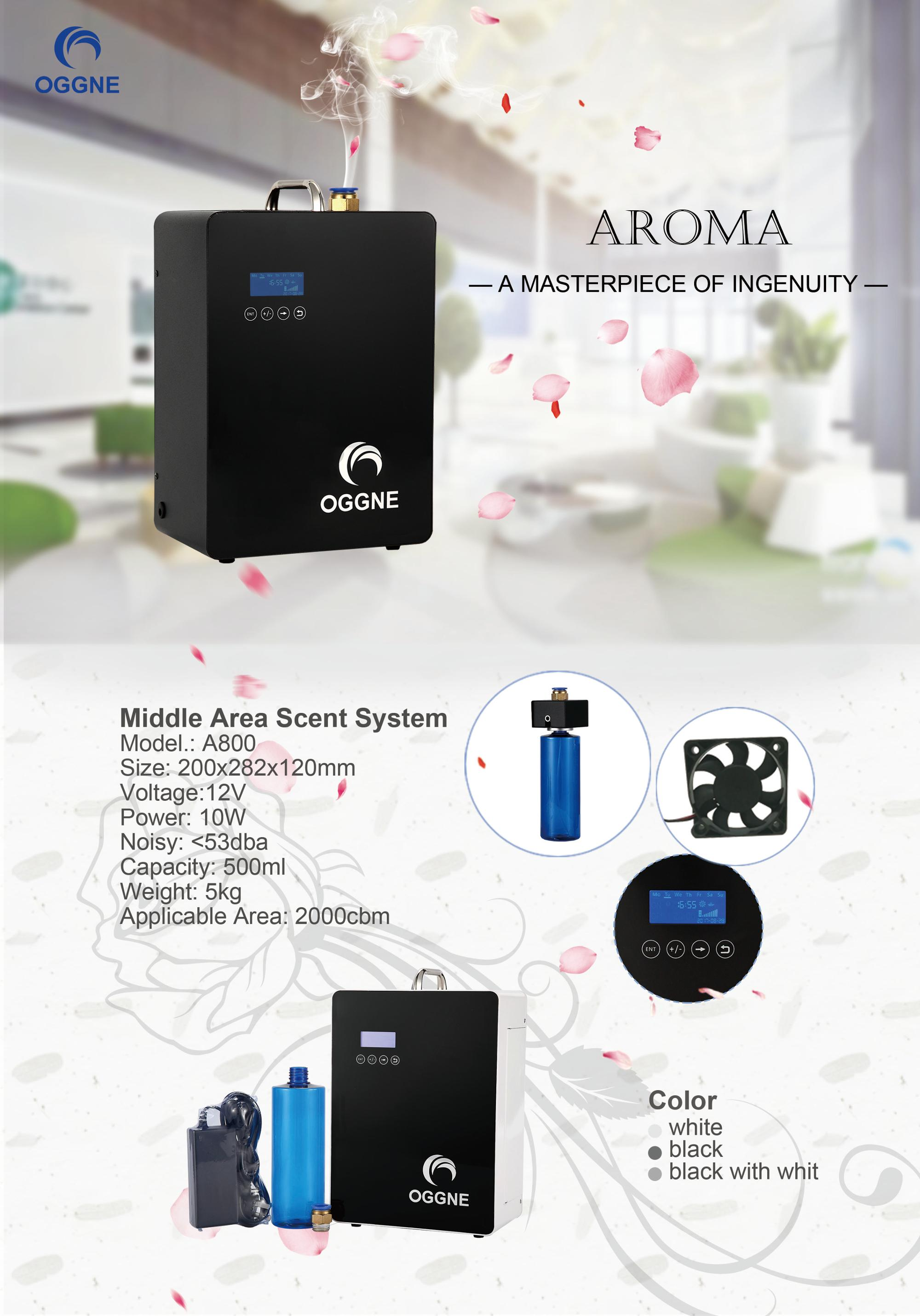 Top grade aroma air machines 500ml capacity essential oil fragrance device for supermarket