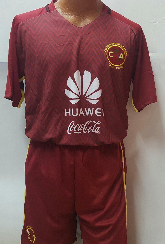 a4ffb292207 Liga MX Club America 100 Years Commemorative Short and Jersey 2 Pc Set (