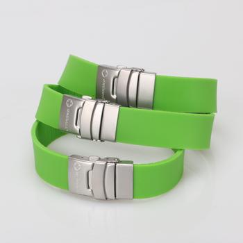 Custom Barcode Gegraveerd Op Siliconen Armband Buy Qr