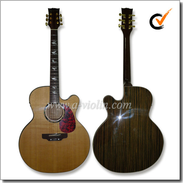 "42"" Cutaway Electric Acoustic Guitar With EQ (AFSb8CE)"