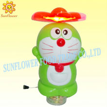 Pull Line Light Doraemon Toy Candy