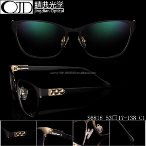 Classic men's metal eyewear high quality stainless steel optical frames S6818