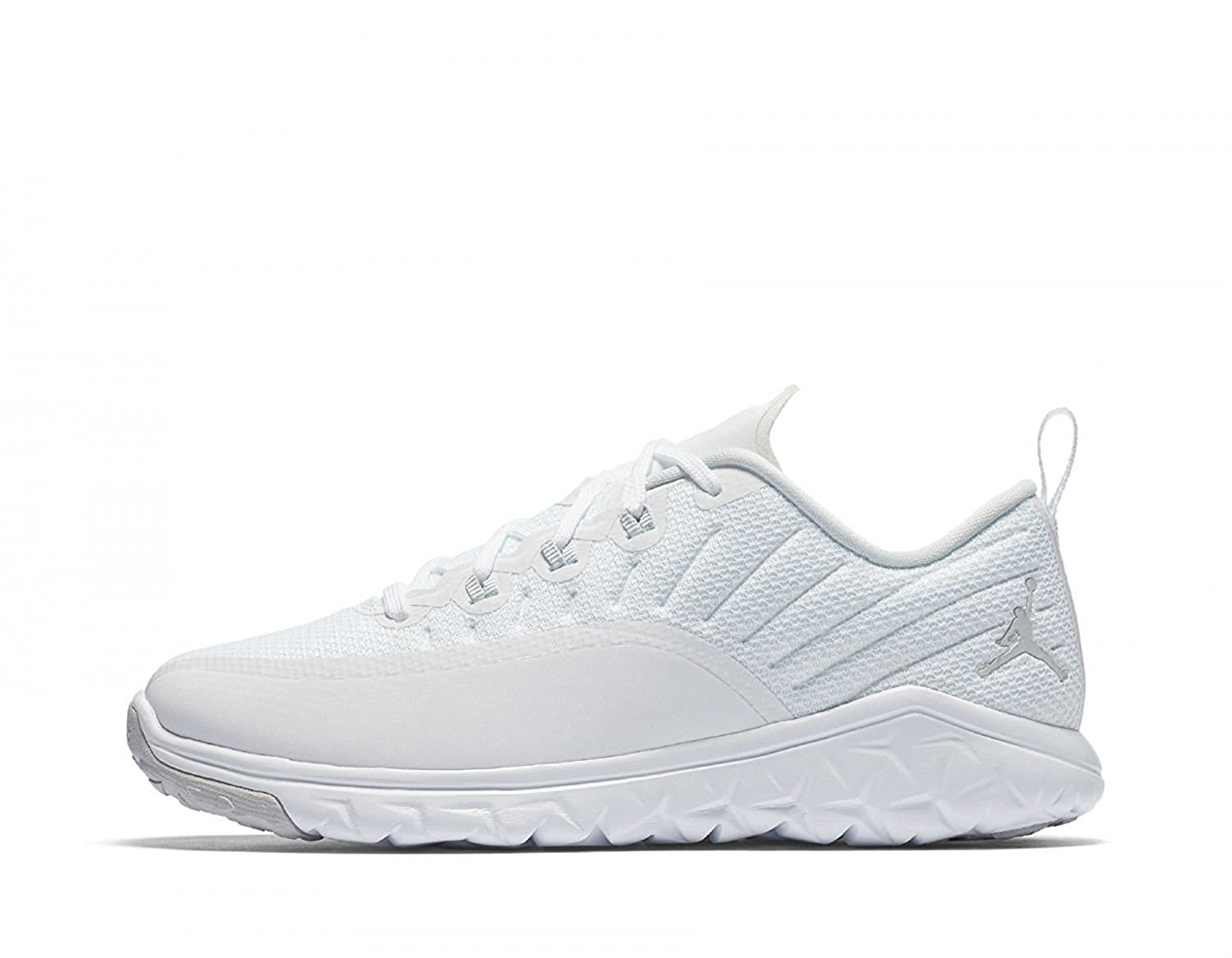 reputable site f7387 f1fab Get Quotations · Jordan Trainer Prime White Pure Platinum (Big Kid)
