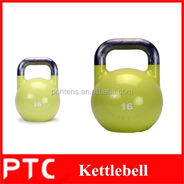 Custom cast iron kettlebell, competition hollow kettlebell in weight lifting