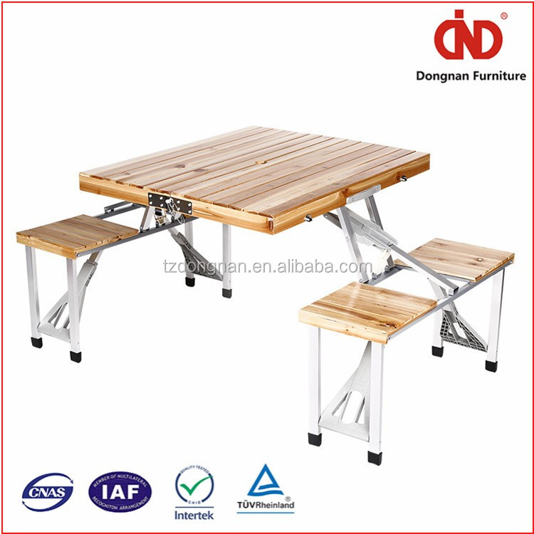 2016 wholesale 100% test trade assurance picnic table kids wooden