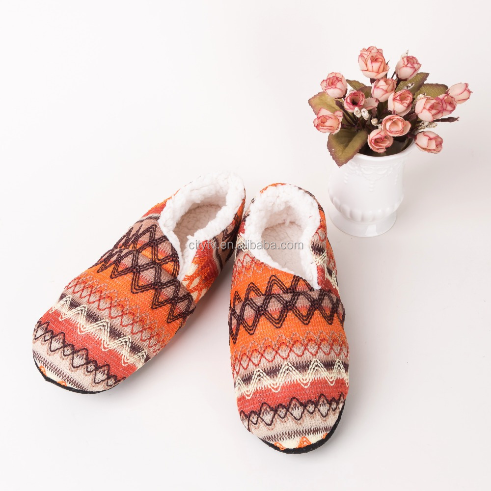2017 Winter Home Soft Warm Indoor Colorful <strong>Slipper</strong> For Woman