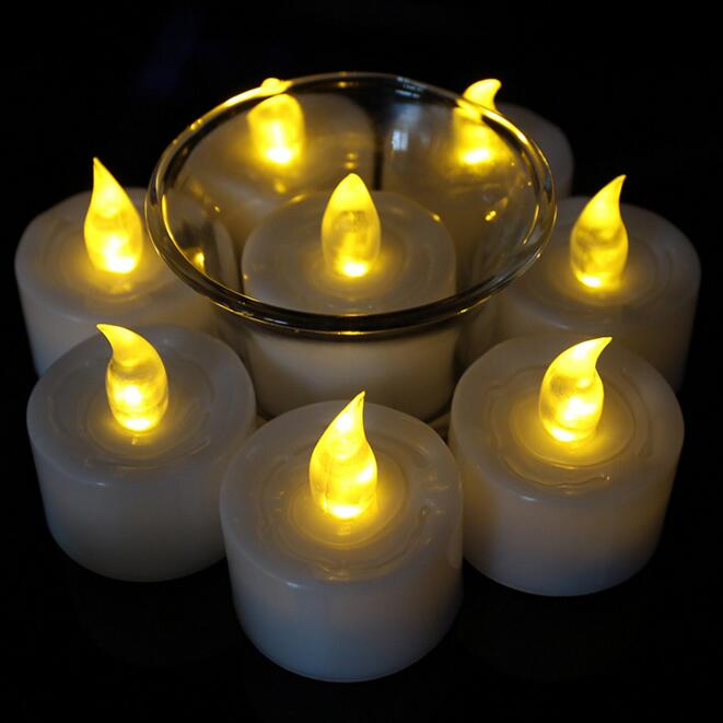 Home decoration flameless led tealight candle,mini led tea light candle