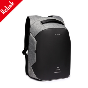 usb backpack bag with usb charger