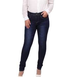 customized plus size jeans woman skinny jeans cheap ladies jeans pants wholesale