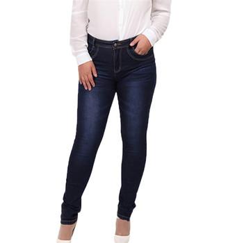 d419fd1fc6 2019 New fashion customized plus size jeans woman skinny jeans cheap ladies  jeans pants wholesale