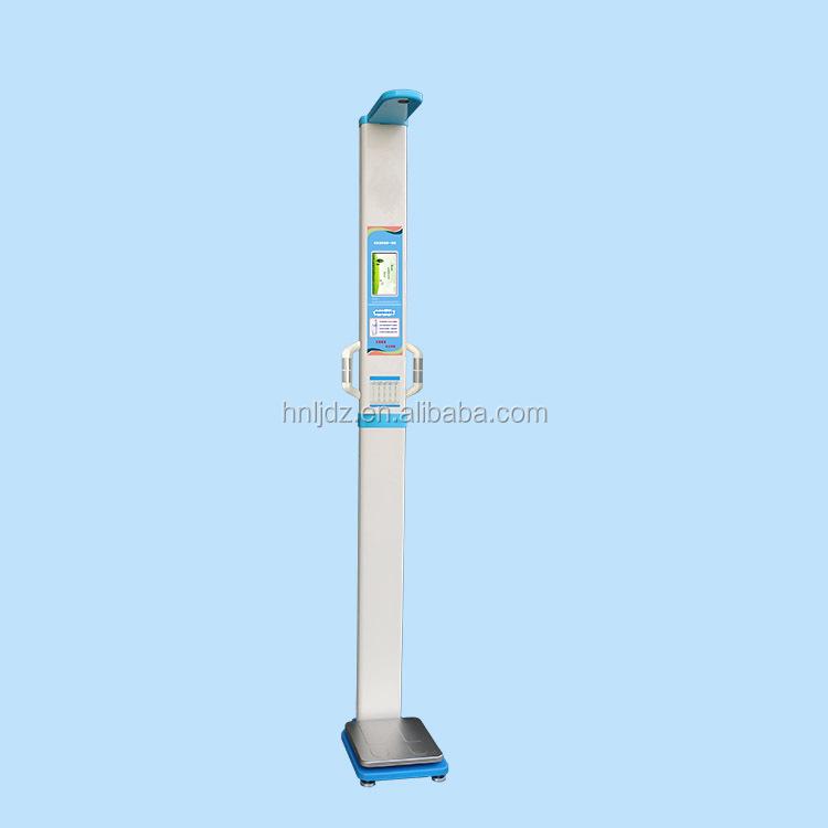 Medical health check-up body fat analyzer scale machine