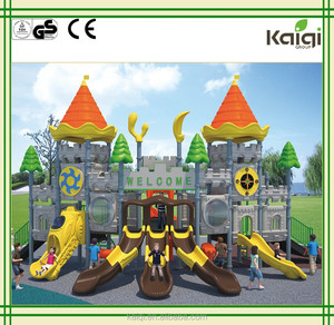 Kaiqi Outdoor Children Amusement Park Equipment Castle Theme KQ50058A