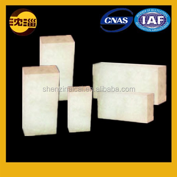 made in China white firebrick fused cast azs refractories for glass furnace