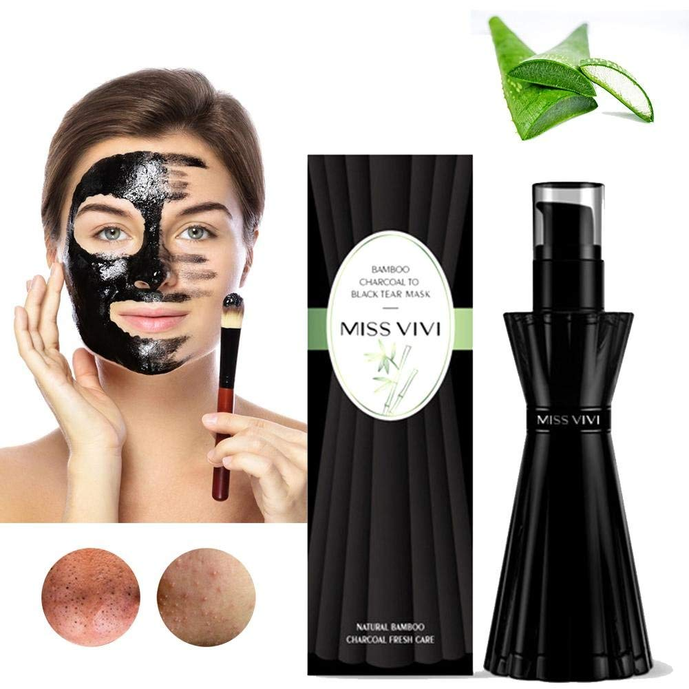 Buy Blackhead Removal Mask, Natural bamboo charcoal and volcanic mud