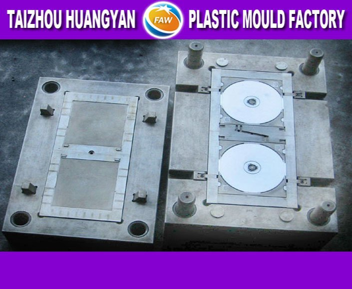 Simple plastic cd tray mould made in China