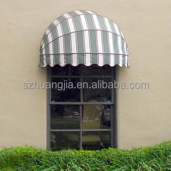 Auto Cheap Stripe Fabric Aluminum Bracket Awning Dome