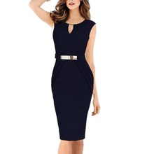 2016 Top Sleeveless Fashion Lady Dress OEM Service Type Black Plain Dyed Cocktail Dress for Party Women Dress