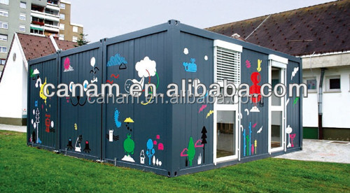 autoanhnger strong container home sandwich house container bar