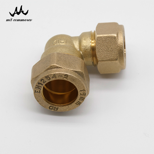 Forging Compression Brass/Copper Pipe Fitting Elbow for PEX Pipe