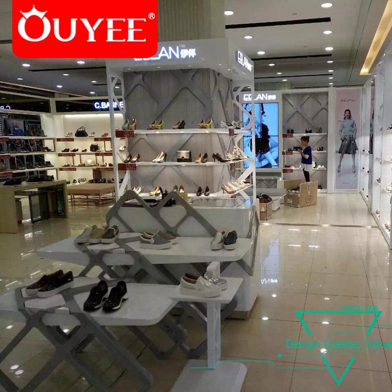 272785c7bbd4 Women High Heels Mdf Shoes Display, Factory Price Used Wood Shoe Racks Store