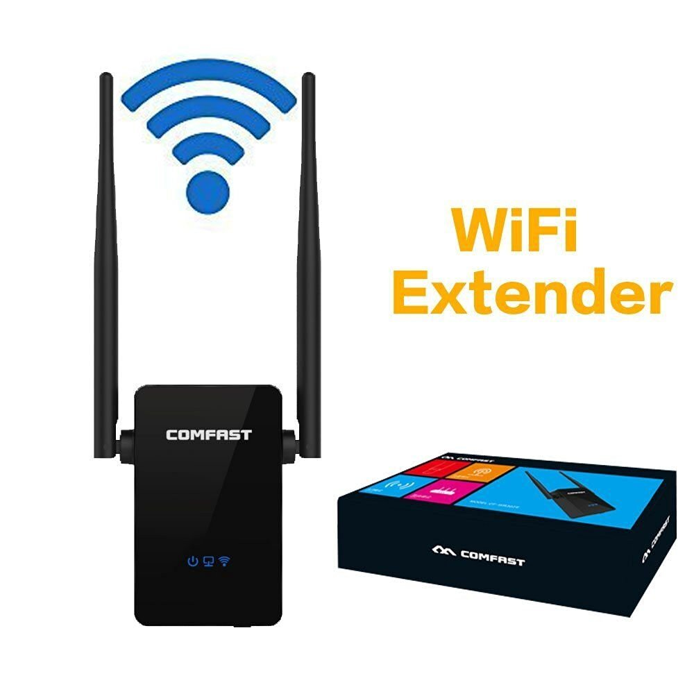 COMFAST 300Mbps Wireless-N Range Extender WiFi Repeater Full coverage Router with Four Modes, Wifi Repeater Supports Router,AP,Repeater and WISP Mode Backward Compatible with 802.11b/g Product