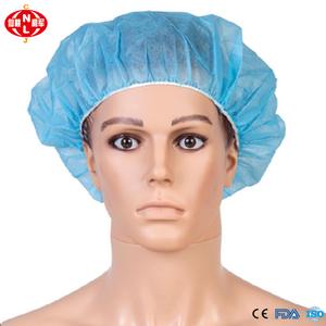 74b464d048f Safety non woven polypropylene round cap disposable surgical cap nonwoven  clip cap