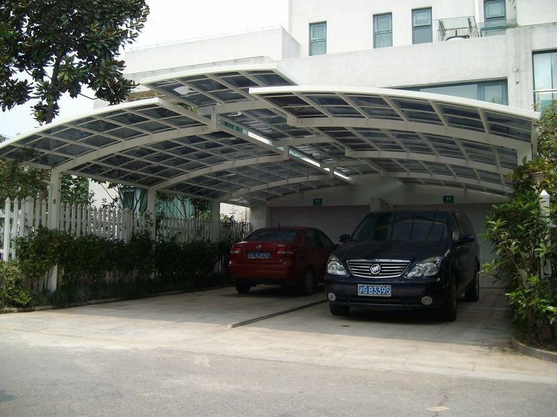car parking shed roof