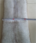 New Natural Real Blue Fox Fur Skin / Plate For Garment