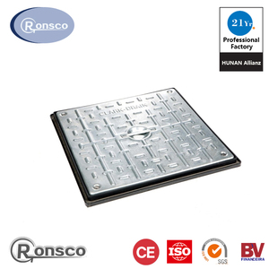 Promotional Factory price cast iron stainless steel manhole cover price