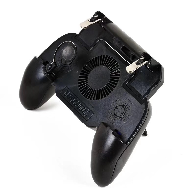 SP L1R1 aim and shoot button joystick mobile gamepad with fan