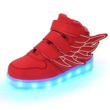 2016 Simulation Led Shoes For children Fashion High Quality Unisex LED Luminous Shoes girls & boys Casual Shoes led shoe kids